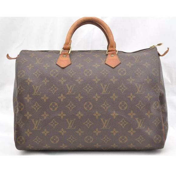 6b81f5cb0830 Louis Vuitton Handbags - Authentic Louis Vuitton Speedy 35 Monogram